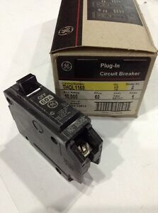 Ge General Electric Thql1160 New Circuit Breaker 1 Pole 60 Amp 240v box Of 10