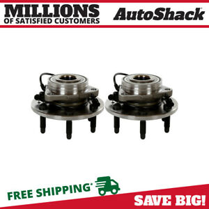 Pair 2 Front Wheel Hub Bearing Assembly 6 Stud For 2007 2013 Chevrolet Tahoe 4wd