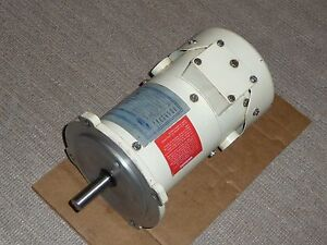 Electrol Dc Motor Md 203 1 4 Hp 1725 Rpm 56c 90 Vdc Ip65 3 Amps 9 1 In lbs