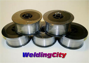 Weldingcity Stainless 308l Mig Welding Wire Er308l 030 0 8mm 2 lb Roll 5pk
