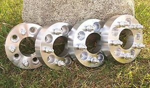 Jeep Wrangler Yj Tj Lj Cherokee Xj Wheel Adapters Spacers 5 Pcs 2