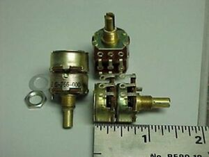 10 Vintage Automatic Radio 267 000 F 25k 5w Dual Ganged Potentiometers Linear
