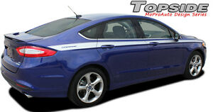Ford Fusion 2013 2019 Topside Pro Grade 3m Vinyl Side Pin Stripes Decals Graphic