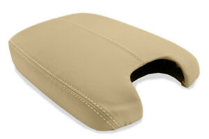 Center Console Armrest Leather Synthetic Cover For Honda Accord 08 12 Beige