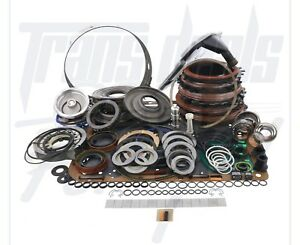 4l60e Transmission Powerpack Red Eagle Deluxe Rebuild Kit 97 03 L2 Shallow Pan