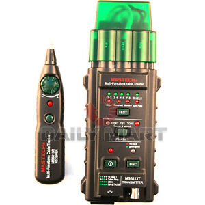 Mastech New Ms6813 Network Cable Telephone Line Detector Tracker Tester Finder