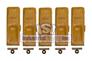 Bucket Tooth Standard Chisel Cat Style W Pins Retainers 1u3252 5pk