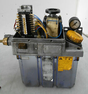 Vogel Skf Centralized Automatic Lubricator Mku1 kw3 20003j Missing Cover