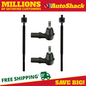 Set 4 Of Front Inner And Outer Tie Rod Ends