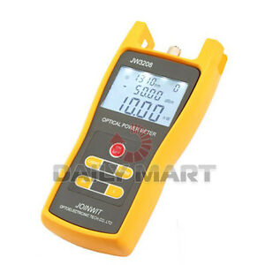 Portable Optical Power Meter Jw3208c Laser Fiber Optic Tool Tester 50 To 26dbm