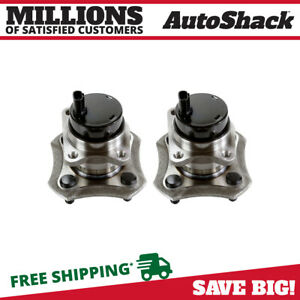 Rear Pair 2 Wheel Hub Bearing Assemblies 4 Stud Fits 2004 2005 2006 Scion Xb Xa
