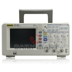 Rigol Digital Oscilloscope Ds1102e 100mhz 1gsa s 1mpts 2 ch New