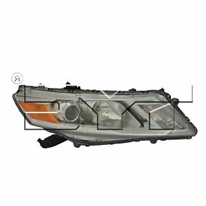 For 2013 2015 Honda Crosstour Passenger Side Headlight Head Lamp Rh