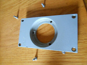 Leitz Ortholux Ii Upper Lamp Port Cover W i Screws free Us Shipping
