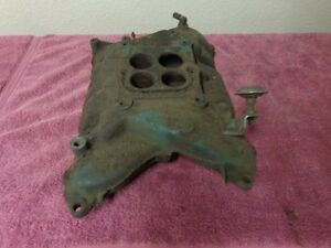 Buick Nailhead Original 4 Barrel Intake Manifold 1375549 401 425 Hot Rod Ivo