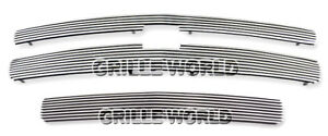 For 2007 2011 Chevy Silverado 1500 Phat Billet Premium Grille Combo