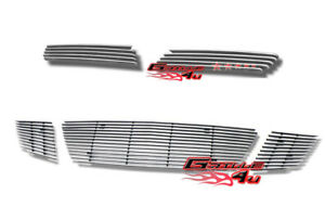 Customized For 07 09 Saturn Sky Red Line Billet Premium Grille Combo Insert