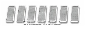 For 2011 2013 Jeep Grand Cherokee Stainless Steel Mesh Premium Grille
