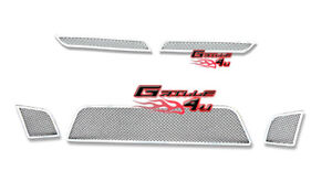 For 2007 2009 Saturn Sky Red Line Stainless Mesh Premium Grille Combo