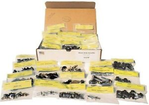 1966 Mustang Master Body Assembly Fastener Kit 446 Pieces