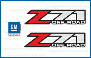 2002 Gmc Sierra Z71 Off Road Decals F Bed Truck Stickers 1500 Gm Hd Set