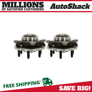 Front Wheel Hub Bearing Pair For 2003 2006 Ford Expedition Lincoln Navigator 4wd