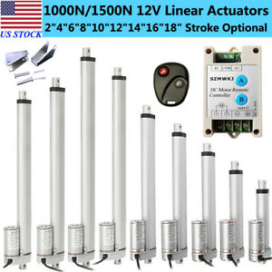 Dc12v 2 18 Heavy Duty Linear Actuator Electric Motor For Medical Lift Auto Car
