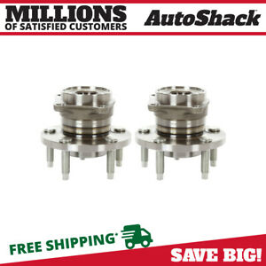 2 New Premium Rear Wheel Hub Bearing Assembly Pair Set Fits Left And Right