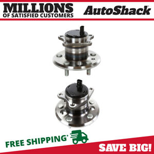 Wheel Hub Bearing Assembly Rear Pair 2 For Camry Avalon Es350 5 Lug With Abs