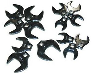 Atd Tools 1420 1 2 Dr Jumbo Crowfoot Wrench Set 14 Pc