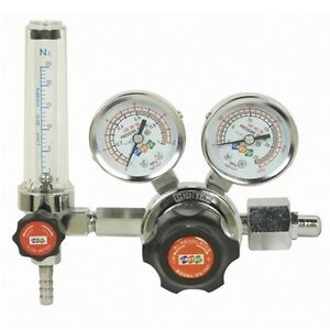 Nitrogen Gas Regulator Pressure Flow Meter Gauges Cretec Ex 707