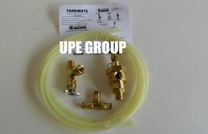 Pneumatic Tank Drain Kit For Compressor Tank Wv 1 1k Wv1 Brass Components