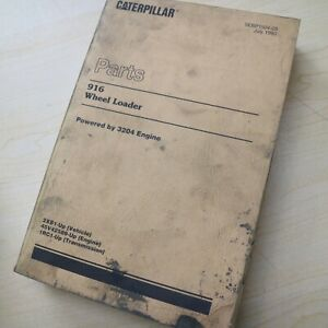 Cat Caterpillar 916 Wheel Loader Parts Manual Book Spare Catalog Sebp1504 List