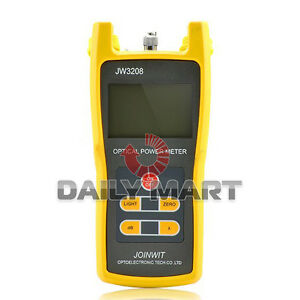 Handheld Optical Power Meter Jw3208a Laser Fiber Optic Tool Tester 70 To 3dbm