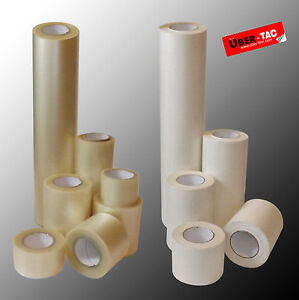Uber tac Clear Paper Roll Of Application Transfer Tape Many Sizes App Tape