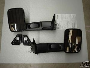 Dodge Ram Truck 1994 2002 Manual Trailer Tow Towing Mirrors By Mopar