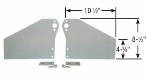 Competition Engineering C4006 2 piece Motor Plates Small Block Chevy Aluminum