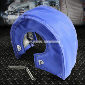 T4 Gt40 Gt45 Turbo Charger Turbocharger Exhaust Blue Heat Shield Blanket Cover