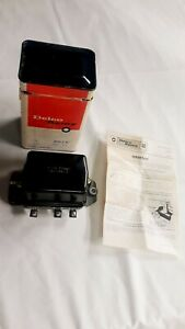 Nos Delco Remy Voltage Regulator For 1955 61 Chevrolet V8 In The Gm Box