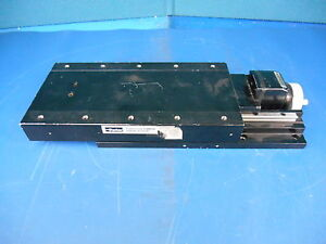 Parker Cr4955 08 4 Travel Mechanical Position Stage With Counter