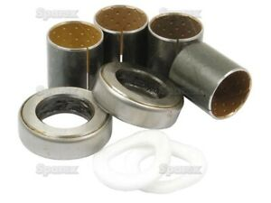Mf Ferguson To20 To30 Mf35 135 Spindle Bushing Bearing Kit 180345m1 18560x