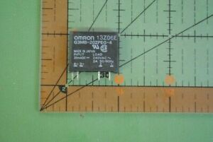 Omron Solid State Relay G3mb 202peg 4 dc20ma Input 20madc 240vac 2a Pcb Sip 100