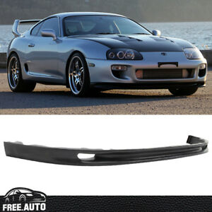 Fit For 93 98 Toyota Supra Magic Whifbitz Aero Style Front Bumper Lip Spoiler Pu