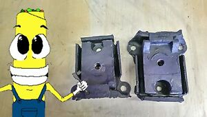 Motor Mount Kit For Chevy Pickup 230 250 292 307 327 350 Engine 63 72 Set Two 2