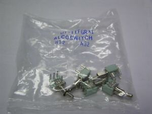 Alcoswitch Utt11fgra1 Spdt Pcv Momentary On None on Tiny Toggle Switches