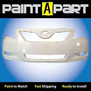 Fits 2007 2008 2009 Toyota Camry Japan Front Bumper Painted 040 Super White