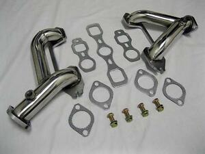 1937 1962 Chevy 6 Cylinder Car Truck Stainless Headers 216 235 261 Split Exhaust