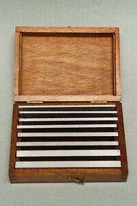 Starrett S384k Steel Parallel Set