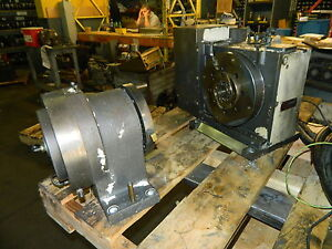 Tsudakoma 10 Nc Rotary Table W Tailstock Rb 250l Mfg d 2002 Used