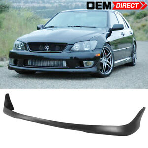 For 01 05 Lexus Is300 Altezza Sxe10 Tr Style Front Bumper Lip Spoiler